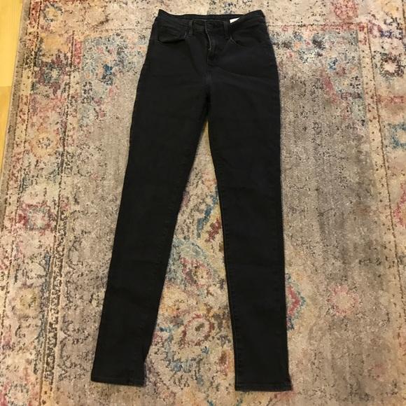 Levi's Denim - Levi's High Waisted Black Skinny Jeans